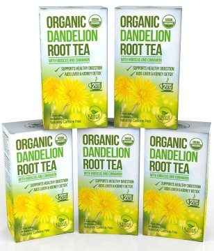 Kiss Me Organics: Dandelion Root Tea
