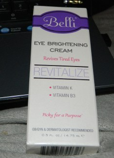 Belli Eye Brightening Cream .5 oz