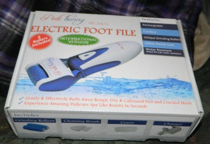 PediBunny's 3rd generation Electric Foot File