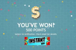Thanks For the Points Instant Win