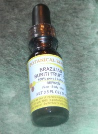 Botanical Beauty: Brazilian Buriti Fruit Oil .5oz