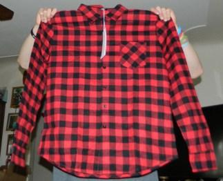 Casual Plaid Long Sleeve Shirt