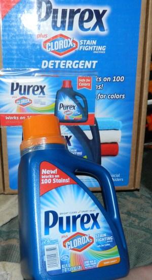 Purex Plus Clorox2 Stain Fighting Enzymes Detergent