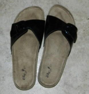 3 Slide Strap Buckle Sandal