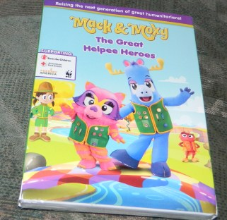 Mack & Moxy: The Great Helpee Heroes DVD