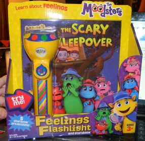 The Moodsters Feelings Flashlight and Book Kit