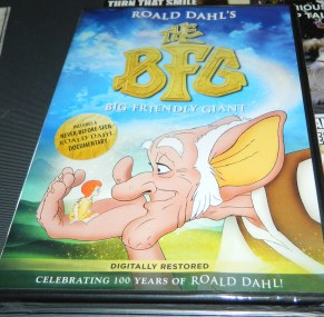 Roald Dahl's The BFG (Big Friendly Giant) DVD