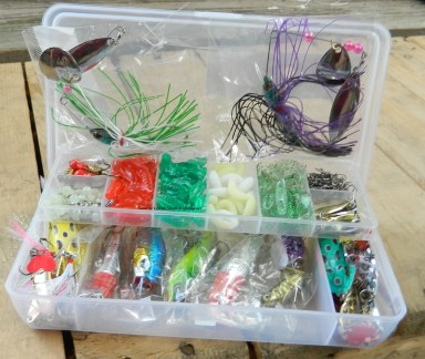 206pcs Fishing Lure Set