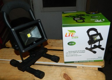 LTE 10W Cordless Outdoor Portable Rechargeable LED Work Light