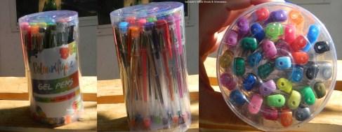 36 Gel Pen Set For Colouring Books
