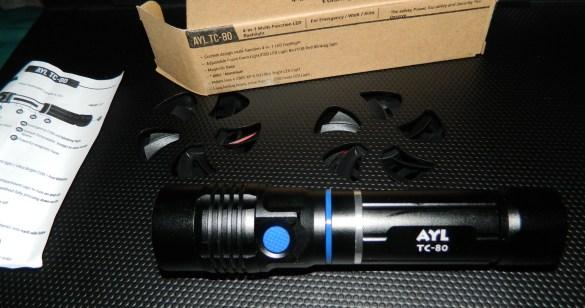 AYL 4-in-1 TC80 LED Flashlight