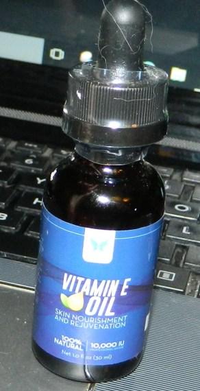 Vitamin E Oil, 100% Natural - Skin Nourishment & Renewal 1oz