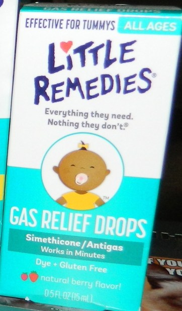 Little Remedies Infants and Children Tummys Gas Relief Drops