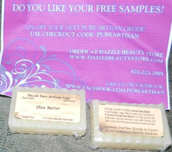 Pure Artisan Shea Butter All Natural Soap Bar - 3.75 - 4 oz