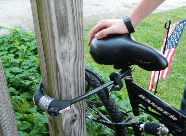 Bike Combination Lock Cable Anti-theft Lock