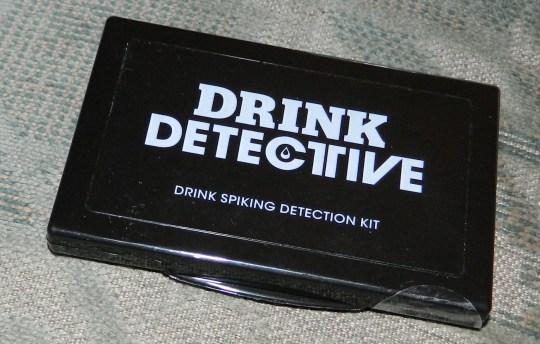 Drug Lab 118 - The Drink Detective (The Drink Spiking Detection Kit)