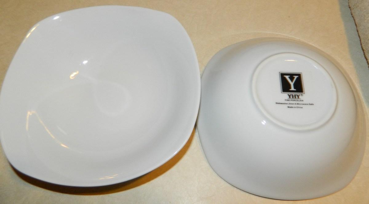 Porcelain Cereal/Pasta/Salad Bowls