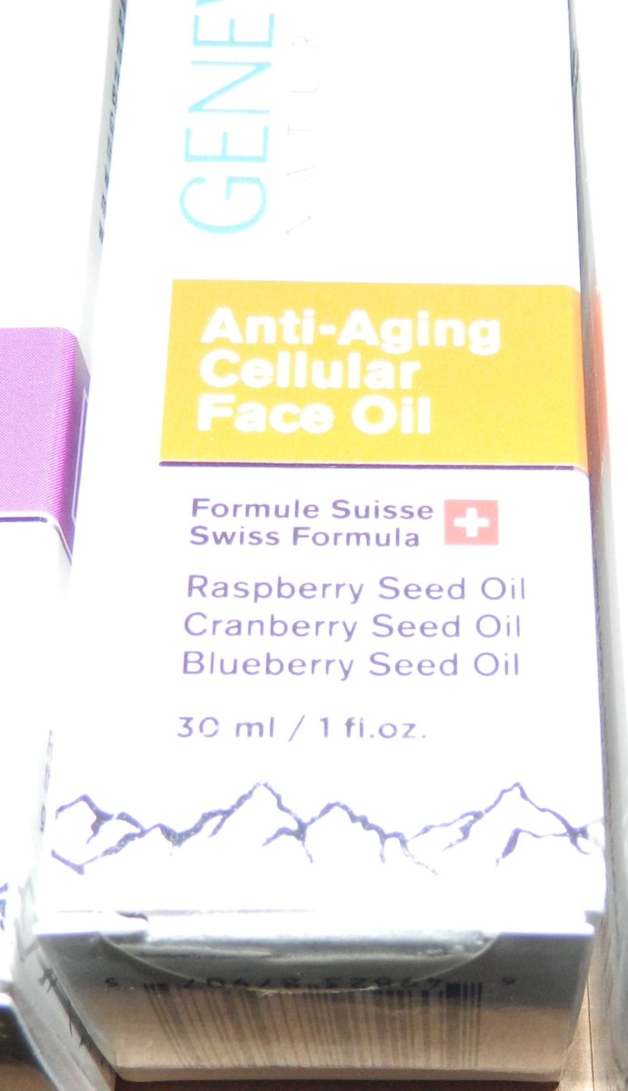 Anti-Aging Cellular Face Oil