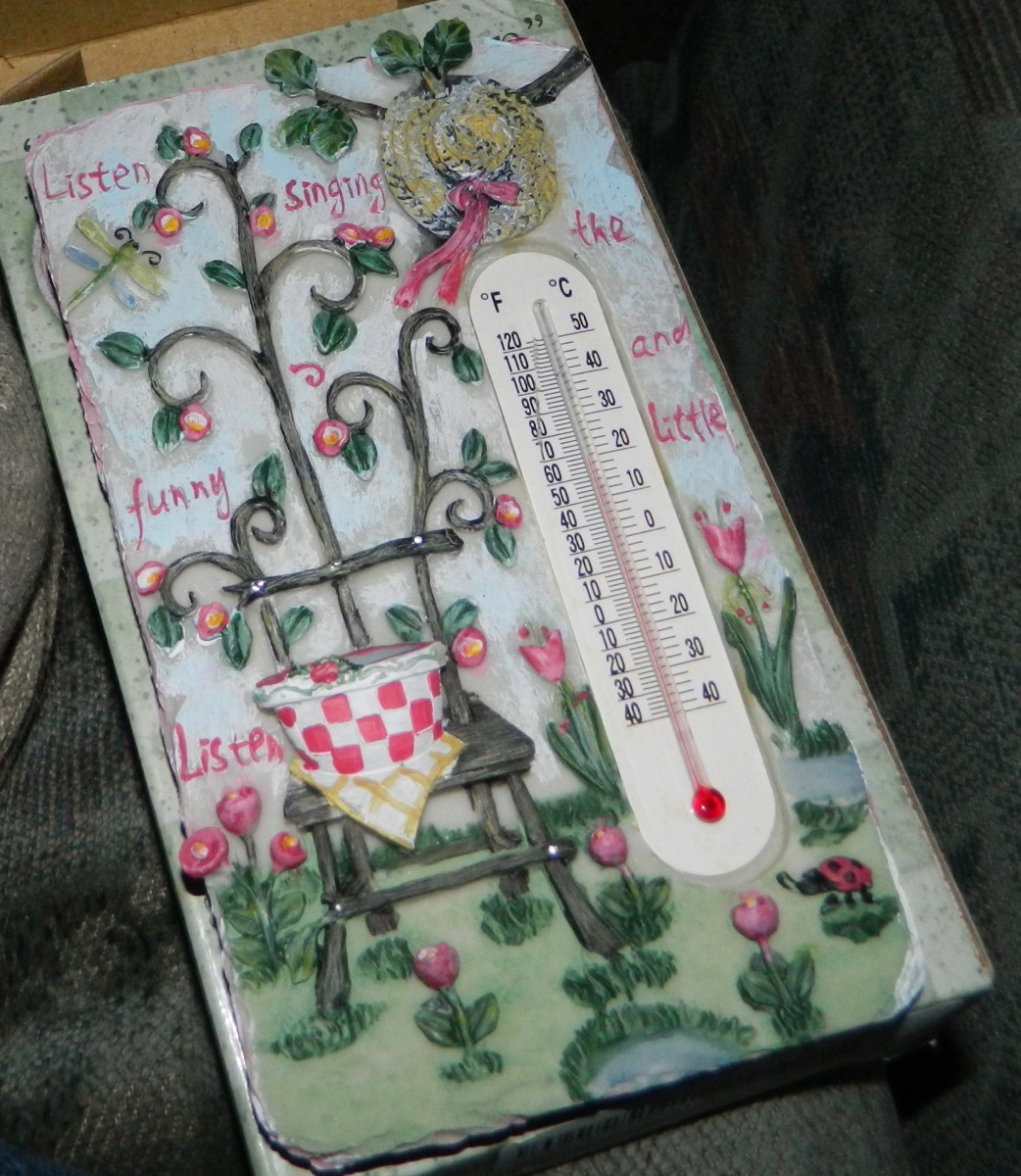 Garden Patio Thermometer