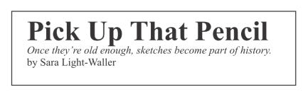 Pick Up That Pencil Urban Sketching ad headers