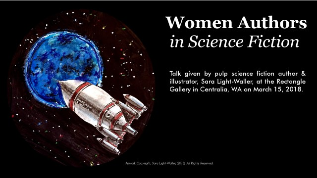 Women of Sci Fi title slide