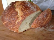 Artisan bread from Tired Hands Brewery in Ardmore, PA