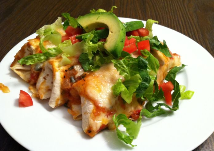 Chicken Enchilladas