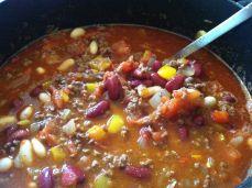 Red and White Bean Chili