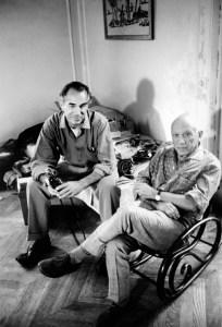 Duncan e Picasso  Gjon Mili