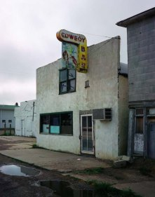 © Wim Wenders Cowboy Bar, Paris, Texas 2001, 2015 Courtesy the artist and BlainSouthern