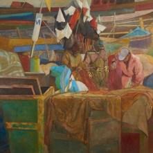 11. Vito Tongiani, Al porto di Mogador, Olio su tela, 2015