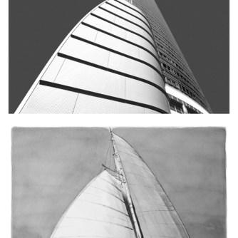 Sailing buildings