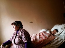 Russia 2007. St. Petersburg. I Mother, Tamara Valentinovna Tereshenko.Igor Tereshenko , Ward 3, AIDS Center, Ulitsa Bumazhnaya 12, 2-nd floor, room 5. Probably will not survive. Spinal tumor in the neck segment. Heroin. Not on ART yet.
