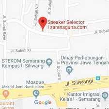 Peta Lokasi Pembuatan Speaker Selector