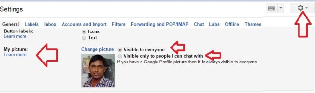 How to Set Gmail Profile Picture