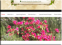 RSF Garden club - WordPress Websites and Training - Sara Ohara