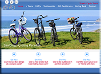 Scenic Cycle Tours - WordPress Websites and Training - Sara Ohara