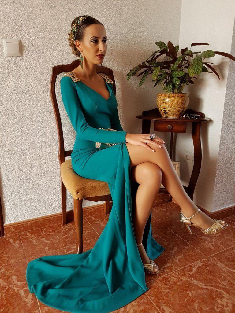 Vestido de fiesta real | Diseñadora Sara Ostos