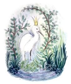 Egret Princess SMALL