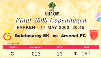 GS - Arsenal UEFA Finali Bileti