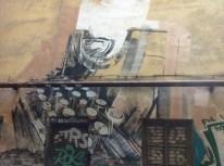 Bir başka grafiti. Daktilo Dovlatov'un anısına olabilir mi?