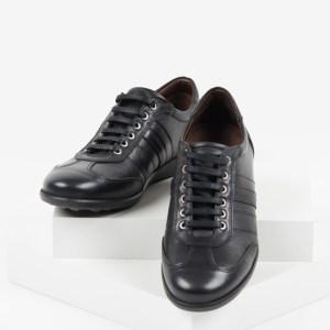 Ежединевни мъжки обувки в черен цвят-0414245