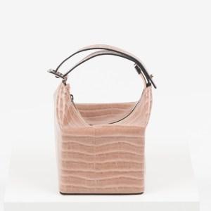 Дамска чанта в розов цвят-725393LCR