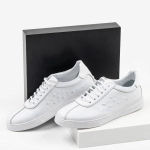Мъжки обувки в бял цвят-063205