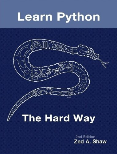 Learn Python the Hard Way by Zed Shaw