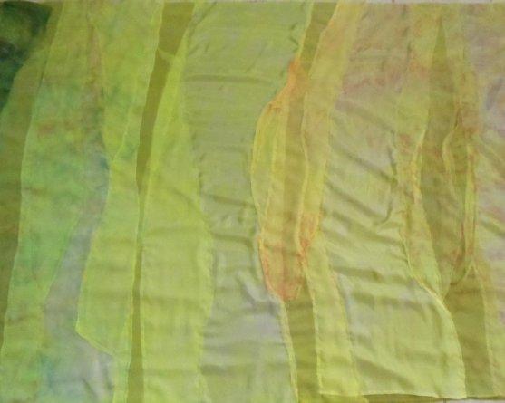 Sara Quail shrinking fabric