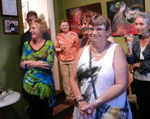 Jennie Abbott in foreground