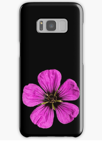 Pink Geranium Samsung Galaxy phone cases