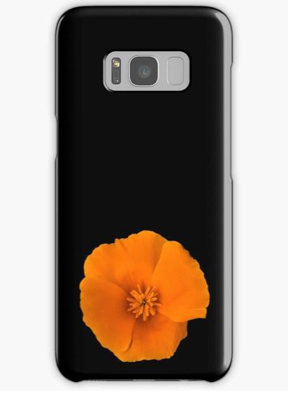 Golden Poppy Samsung Galaxy phone case