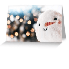 Snowball Christmas Card